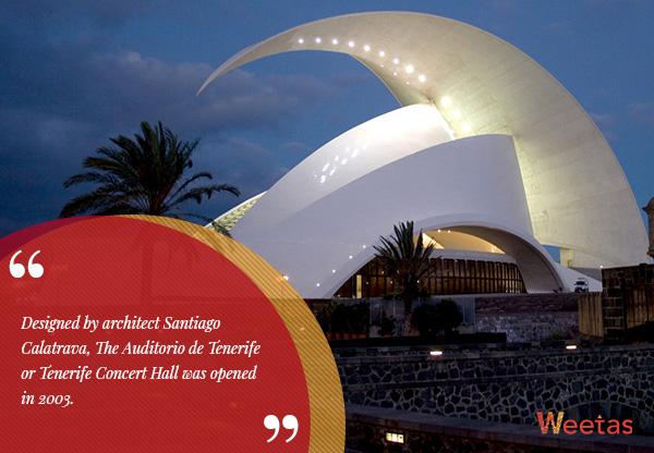 Tenerife Concert Hall, Canary Islands