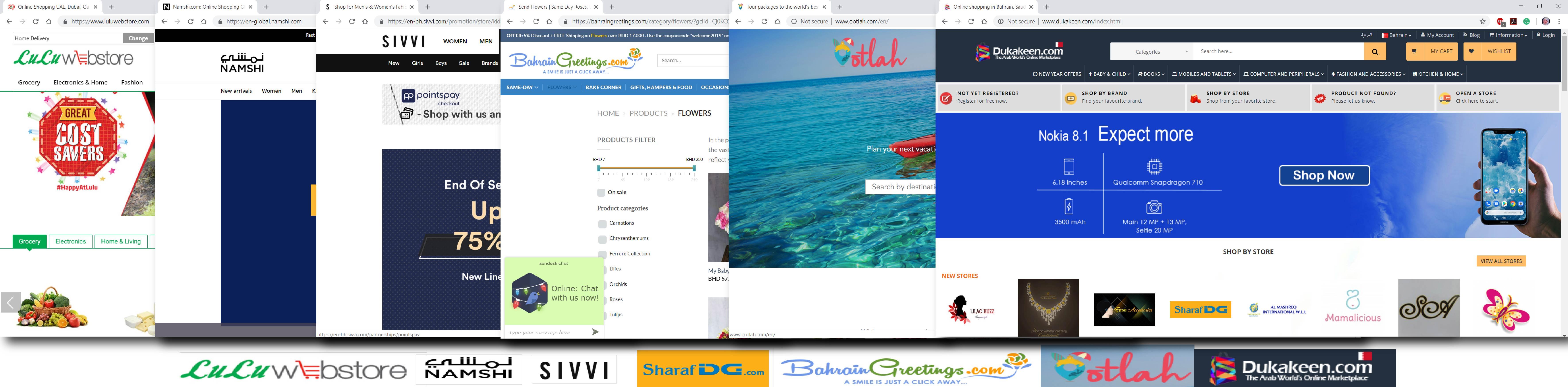 التسوق الإلكتروني في المملكة: أفضل مواقع التسوق الالكتروني في البحرين