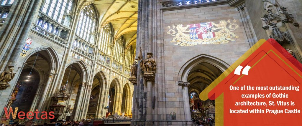 St. Vitus Cathedral, The Czech Republic