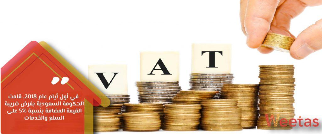 فرض ضريبة القيمة المضافة