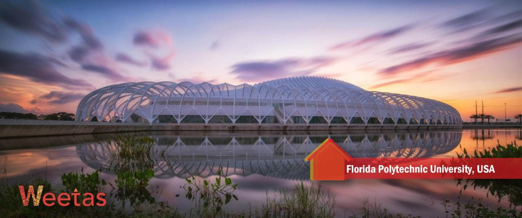 The most beautiful futuristic architecture: Florida Polytechnic University, USA