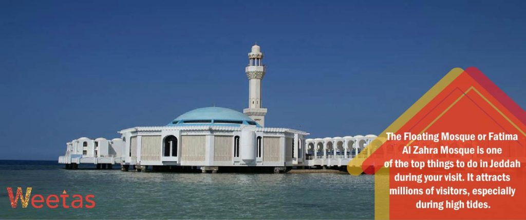 Jeddah's Floating Mosque
