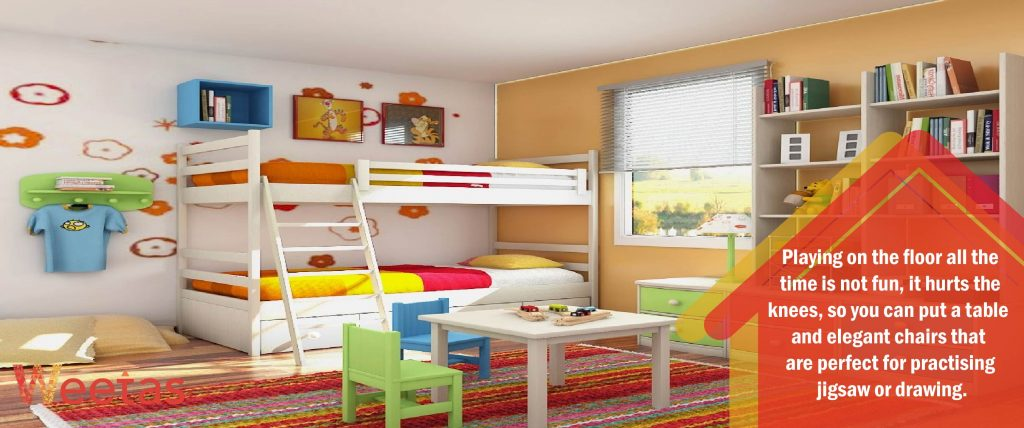 Furnish your playroom