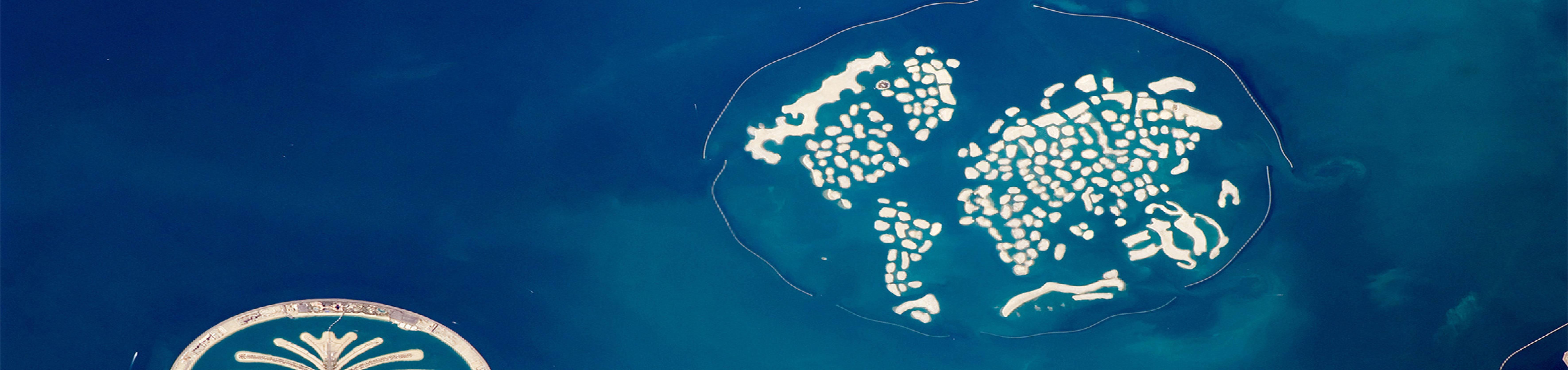 اجمل الجزر الصناعية: اكتشف أهم وأفضل الجزر الصناعية فى العالم