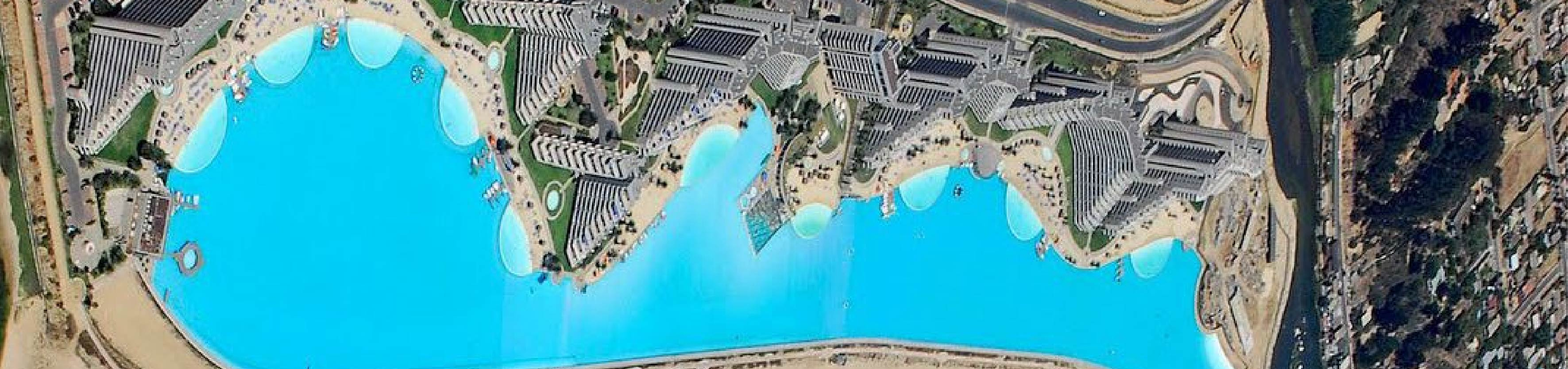 Largest Pools in the World: Discover the largest 8 pools around the world