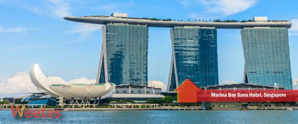 Marina Bay Sans Hotel, Singapore