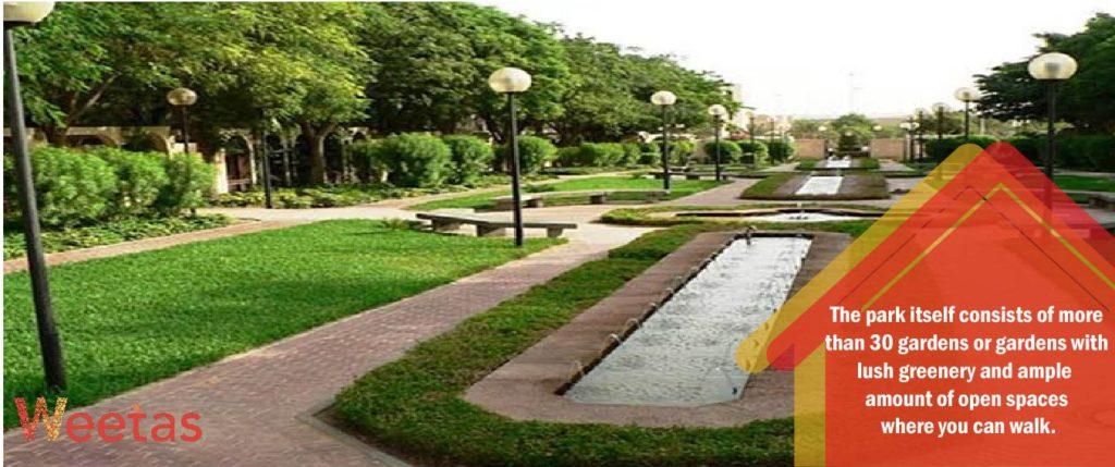 The Diplomatic Quarter Parks
