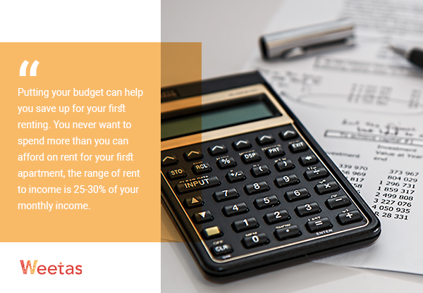 - Set your budget