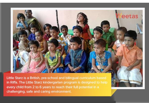 LITTLE STARZ PRE-SCHOOL - Preschools in Bahrain