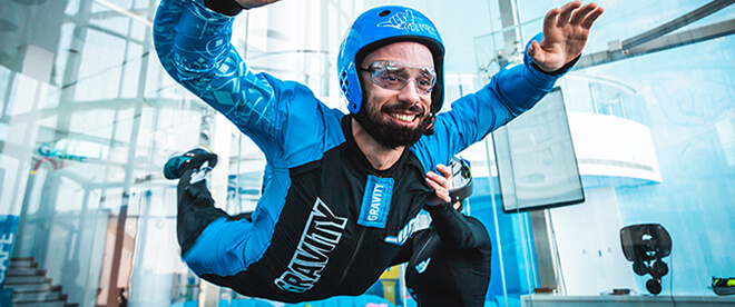 Gravity Indoor Skydiving - Kids activities in Bahrain