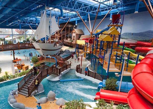 Splash about at a waterpark - Marina Mall Bahrain