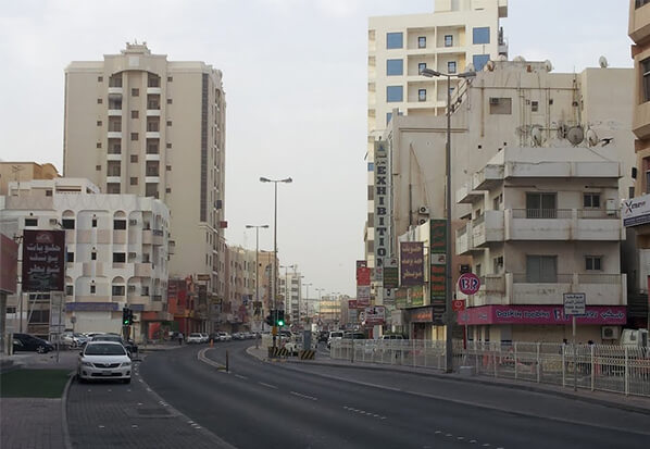 السكن في شارع المعارض