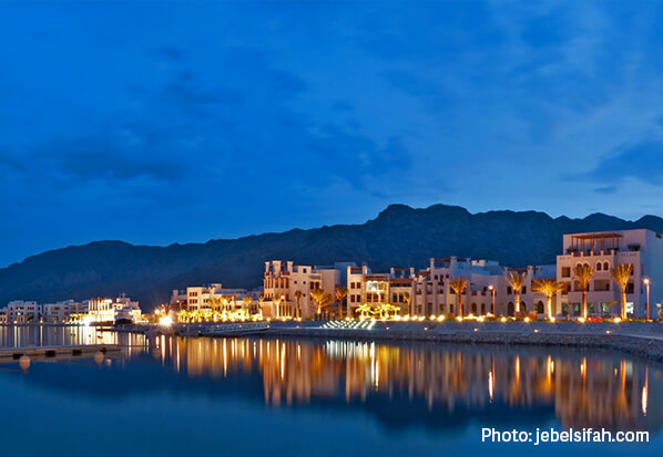 ذا بيتش فرونت، عمان