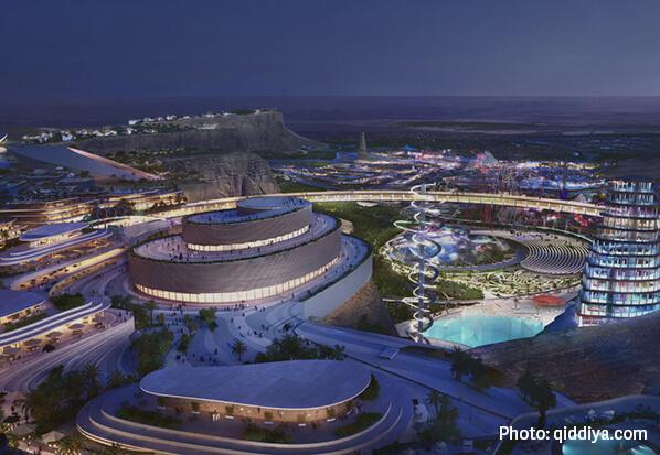 مدينة القدية الترفيهية ، المملكة العربية السعودية