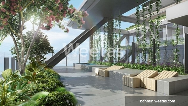Beautiful sky garden