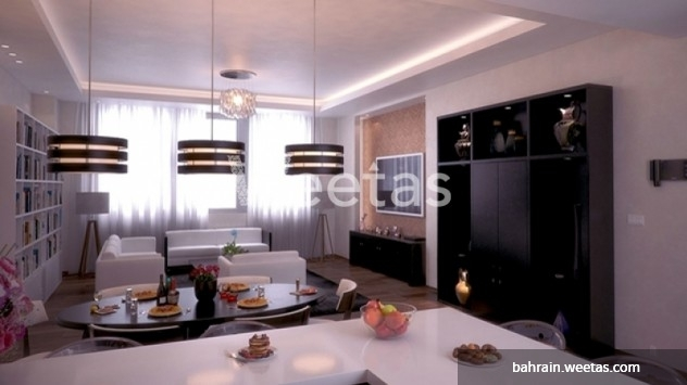 Open kitchen apartment