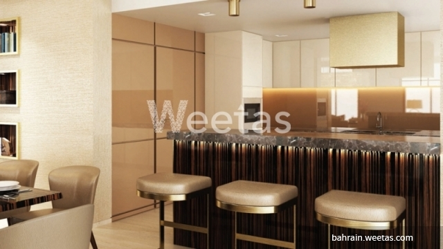 Semi furnished kitchen
