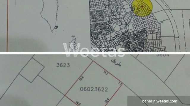 Land in Sitra district
