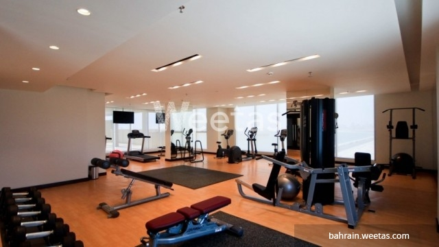 Large fitness gym