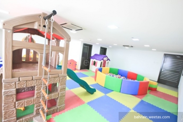 kids playing area