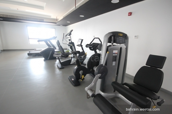Fitness gym in house