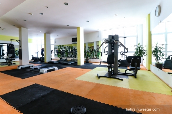 The sports gym