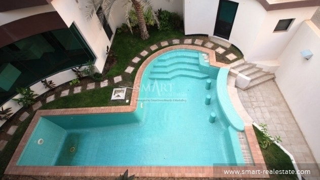 Semi Furnished Villa for Rent in Janabiya