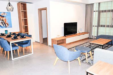 An elegant furnished apartment for rent