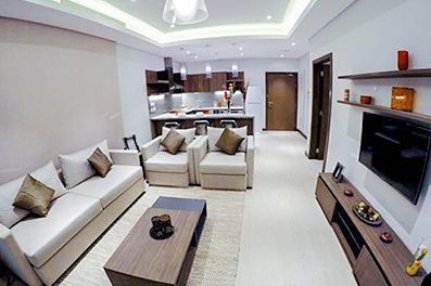 Luxury one bedroom apartment for rent