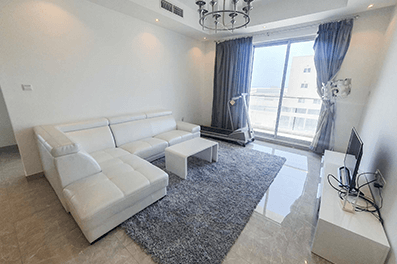 Two bedrooms apartment with a balcony for rent