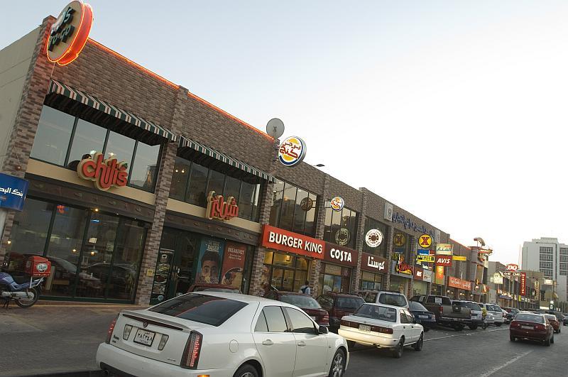 Juffair streets