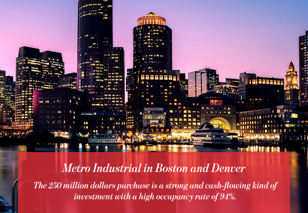 Metro Industrial in Boston and Denver