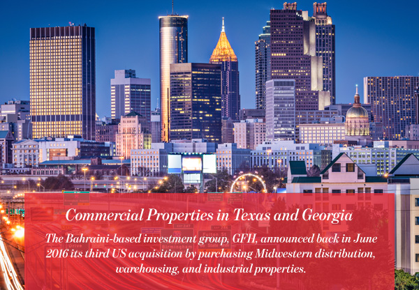 Commercial Properties in Texas and Georgia