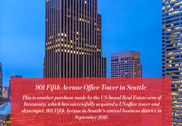 901 Fifth Avenue Office Tower in Seattle