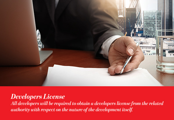 Developers License