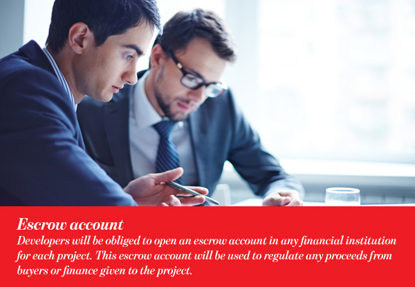 Escrow account