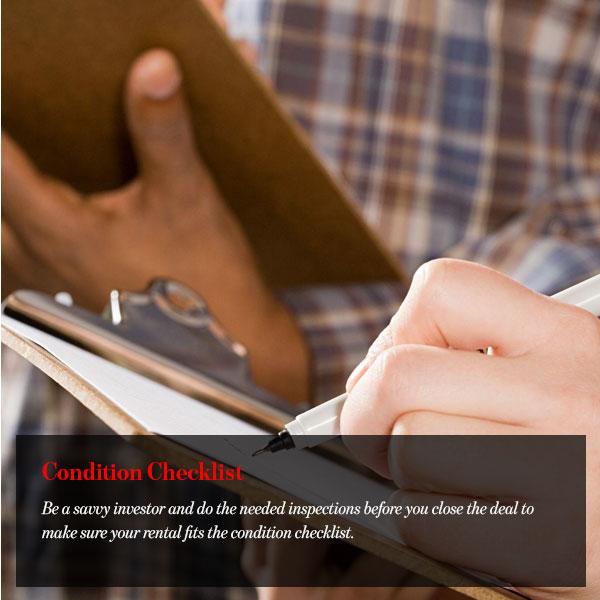 Condition Checklist