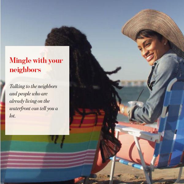 Mingle with your neighbors