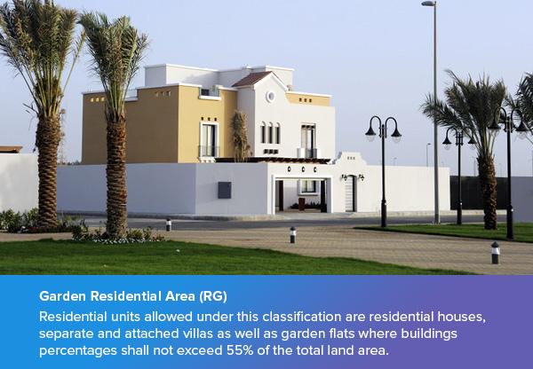 Garden Residential Area (RG)