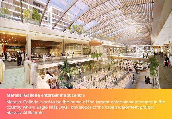 Marassi Galleria entertainment centre