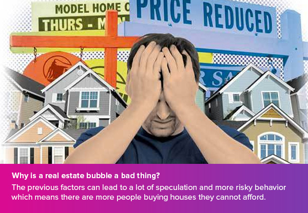 real estate bubble a bad thing